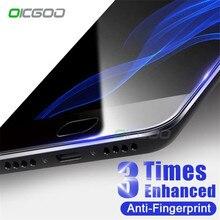OICGOO 9H Tempered Glass Xiaomi Mi6 Mi5 Mi5S Plus Screen Protector Xiaomi Mi6 Mi5X Mi5C Glass Full Cover Protective Film
