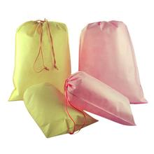 1PC Shoes Towel Storage Bag Premium Waterproof Non-Woven Travel Wash Pouch Drawstring bagHouse Storage Tools(China)