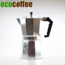 Free Shipping Classic Espresso Coffee Maker 1/3/6/9/12 Aluminum Coffee Moka Pot Mocha(China)