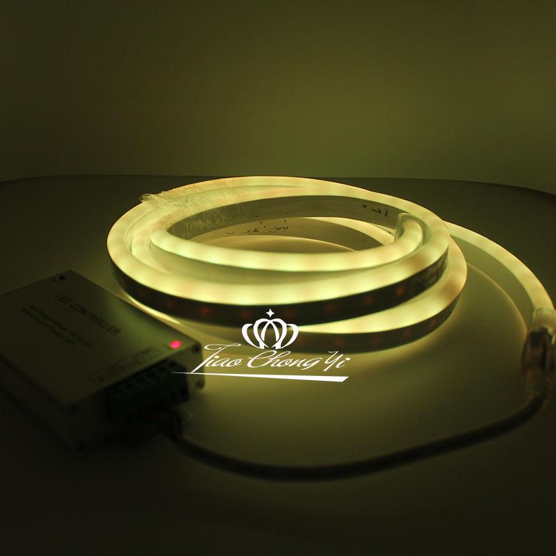 Solf-DC12V-5050-RGB-Flex-led-neon-rope-faixa-RGB-controlador-5A-12-V-power (4)