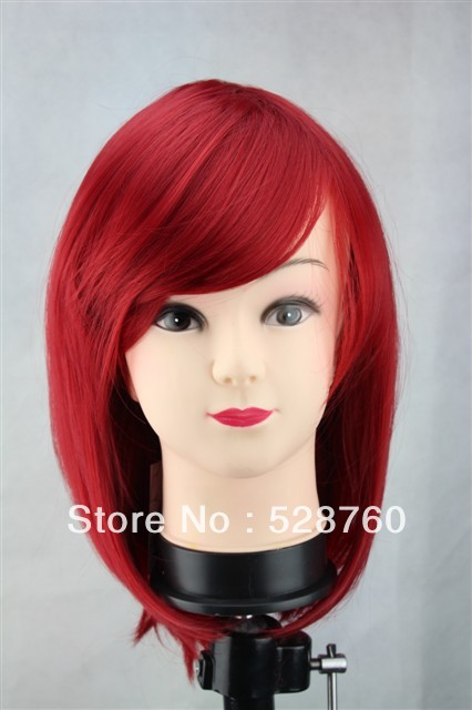 Beautiful burgundy wig short hair  Wigs Free shipping<br><br>Aliexpress