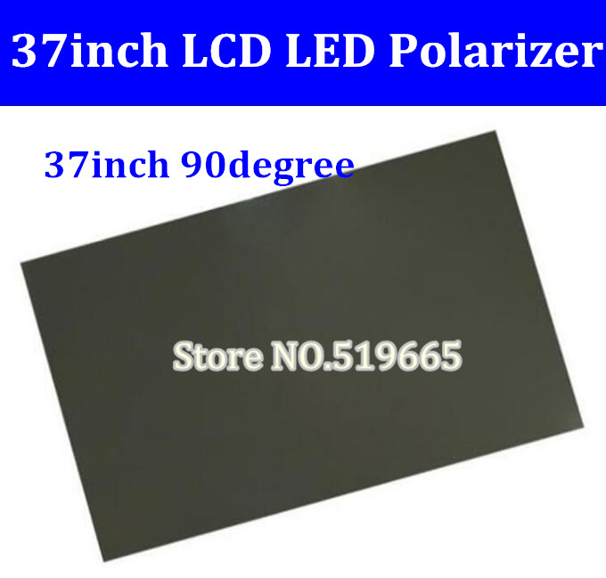 New 37inch 37 inch 90 degree Glossy LCD Polarizer Polarizing Film for LCD LED IPS Screen for TV<br>