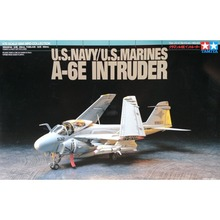 OHS Tamiya 60742 1/72 US Navy/Marines A6E Intruder Assembly Airforce Model Building Kits