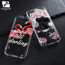 TAOYUNXI Mobile Phone Cases For Apple iPhone SE iPhone 5 5S 5G 55S 6C Cover iPhone55s Case PC TPU Bags DIY Painted Relief Skin(China)