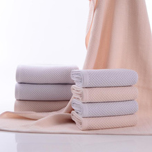 ISHOWTIENDA 2017 New 100% Bamboo Fiber Soft Face Towel Woven Hand Shower Fitness Towels Quick Dry Compressed Towel Brand 34*75cm(China)