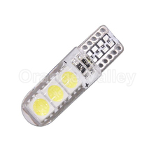 1Pcs High Bright T10 W5W 6LED Waterproof 5050 6SMD Car Wedge Light Marker Lamp Reverse License Plate Bulb Side Turn Signal Light