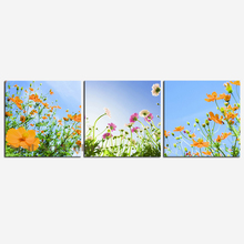 3 Panel Modern Wall Art Landscape Canvas Painting High Definition Prints Waterproof Fabric Cloth for Home Decoration SCP3084(China)