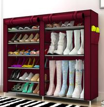 LASPERAL Shoes Storage Layer Non-woven Shoe Storage Dust Shelf Creative Combination Shoes Storage Cabinet Organizer 1PC