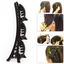 Black Hair Pin Clips Hairpin Women Hair Clips Barrette Comb Hair Disk Bump Hair Styling Tools