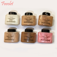 Fovolet 42g best quality new banana powder makeup loose powder make up cosmetic(China)