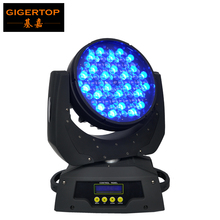TIPTOP TP-L610 90x5W Led Moving Head Wash Light Zoom 9-42 Degree USA Cree Lamp High Brightness RGBW Single Color DMX 16 Channels