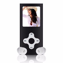 High Quality 1.8inch LCD Screen FM Radio Mp3 Player 8GB Slim Digital Video Games Movie MP3 Music Player(China)