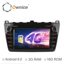 "Ownice C500 8"" Quad Core Android 6.0 For Mazda 6 Car DVD Player with GPS Navi WiFi 4G Stereo Radio Bluetooth 2GB RAM 16GB ROM"