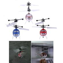 Creative Mini Induction Aircraft Fun Infrared Sensor Flying Toy Kids Indoor/Outdoor Induction Flying Helicopter Educational Toy
