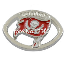 Tampa Bay Buccaneers Charm Sport Team Logo Bracelet Connector Alloy Plated Jewelry(China)
