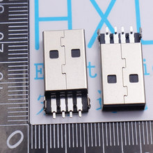 Bulk sale Direct manufacturers USB USB mobile power plug socket USB USB connector A heavy plate(China)