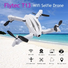 Buy Flytec T13 3D WIFI FPV Selfie Drone 720P Wide Angle Camera High Hold Mode RC Quadcopter Helicopter Drone Toy VS JJRC H37 for $40.99 in AliExpress store