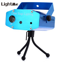 Lightme R&G Holiday Laser Dj Disco Projector AC 100 - 240V 9W Mini LED Stage Laser Light RGB Projector Club Festival LED Lamp