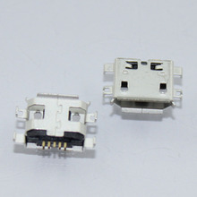 HOT!!50pcs/lot For Netbook / Tablet PC For ASUS / Lenovo / Acer / HP charging ports Mini USB MICRO USB connector 5pin 5-pin