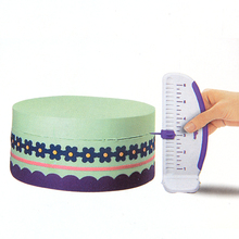 Fondant cake decorative ruler 3D Splitter ruler wedding party cake decorating tools
