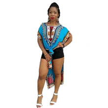 Vestidos Cheongsam Vintage Dress Traditional Dress Multicolor Traditional African Print Smock Dress Vestidos(China)