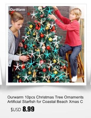Ourwarm 18 DIY Felt Christmas Tree Pendant Drop Ornaments New Year Gift for Children Kids Door Wall Hanging Xmas Decoration 18
