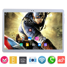 2017 New 10 inch 3G 4G LTE tablet Octa core 1920*1200 IPS HD 8.0MP 4GB 64GB Android 6.0 Bluetooth GPS tablet 10 10.1 + Gifts