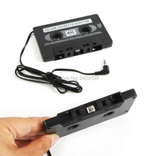 wholesale 1000pcs/lot New FOR MP3 CD MD DVD For Clear Sound Music Car Cassette Tape Adapter Free DHL FEDEX Shipping