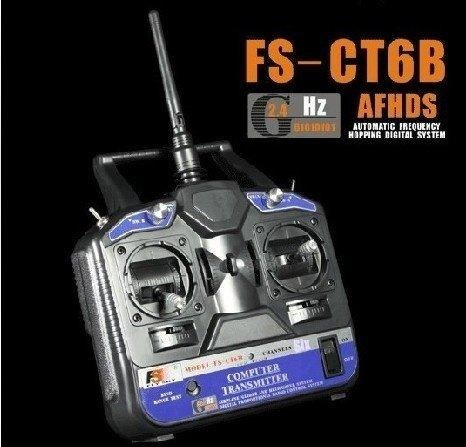 F03104-A FlySKY FS 6CH 2.4G FS-CT6B RC Transmitter 6 channel (No receiver) for Heli/Airplane/Glid/Copter +Freeship<br><br>Aliexpress