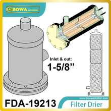 FDA-19213 REPLACEABLE CORE filter driers has Solid copper full flow connections and Corrosion-resistant, powder coated shells(China)