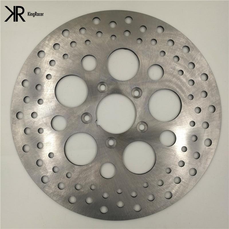 Motorcycle Brake Disc Rotor 11.5 For Harley XL 1200 L Sportster Low 07-10 FLHTI 04-06 FLHTCUI/ FLTRI 99-07 FXD/ FLSTS 99-03<br>
