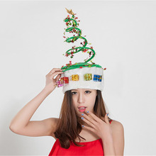 2017 Creative Spring Caps Christmas Hats xmas Ornaments Party Decoration Costumes Free Shipping High Quality R098