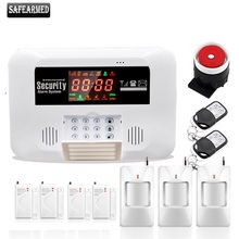 2017 Free Shipping Wireless Home Burglar GSM Alarm System Security Guard G3 Support Relay Smart Home Control Voice Prompt(China)