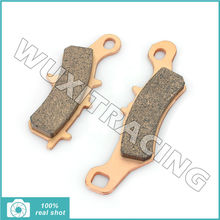 2pcs Sintered Front Brake Pads  for SUZUKI RM 80 100 03 05-13 15 for KAWASAKI KX 80 85 100 97-15 KL 250 2000 2001 2002 2003 2004