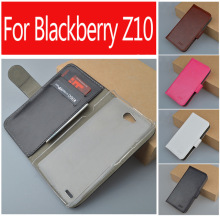 Luxury leather case for Blackberry Z10 flip cover case housing case skin for Blackberry Z 10 phone covers cases