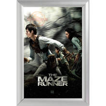 Silver Color Aluminum Alloy Picture Frame Home Decor Custom Canvas Frame Maze Runner Canvas Poster Frame F0112#182(China)