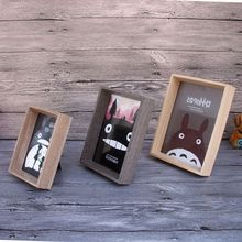 Vintage Wooden Photo Frame Natural Colour Picture Frames Home Decoratives For Gifts Hot(China)