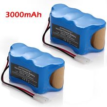 Powerextra 2 pack 3000mAh Replacement Battery For Shark Vacuum Cleaner batteries 7.2v Sweeper Euro-Pro V1950 VX3 XB1918 V1917
