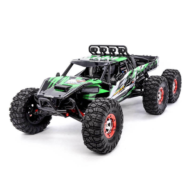 06-5 FY06FY07 112 2.4GHz 6WD RC Off-road Desert Truck RTR 60km70km High Speed Metal Shock Absorber LED Lights boy best gift toy