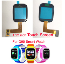 Original Q80 Q90 Children Phone 1.22 inches touch screen Glass ACCESSORIES for Q80 Q90 Smart phone watch Touch screen