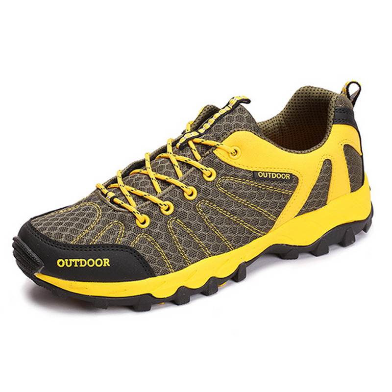 2017 Men and Women Hiking Shoes Trekking Climbing Mountain Shoes Mesh Breathable Outdoor Shoes Athletic Hiking Sneakers 1603<br>