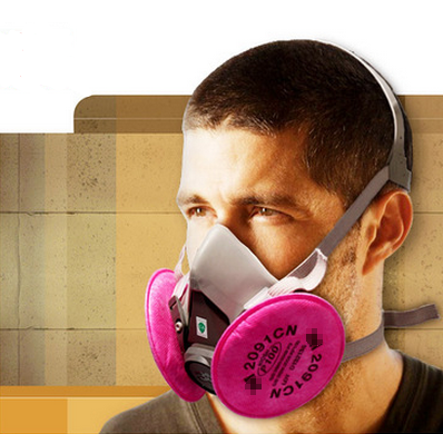 New respirator dust maskIIIM6200 gray rubber dust mask with 2097 filter cotton PM2.5 anti - dust respirator<br><br>Aliexpress