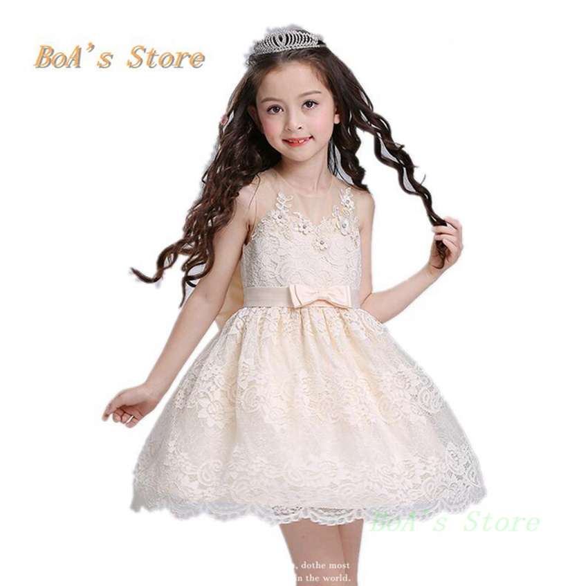 3 Layers Tulle Baby Dresses For Girls Clothes Girls Dress With Vintage Floral Summer Party Wedding Special Princess Kids <br>