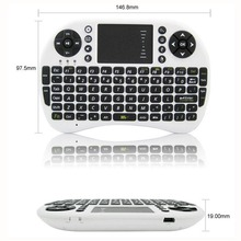 Mini Portable Wireless 2.4Ghz Air Mouse Keyboard Remote Control For iOS Linux Android