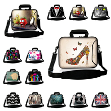 2016 Latest Laptop Bag Computer 10 12 13 14 15 17 Notebook Bags Messenger Shoulder Strap Cover Cases Neoprene Bolsas Protector