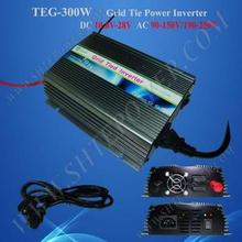 300W grid tie power inverter, solarinverter on grid 300W, pure sine wave invertor 12V 220V 300W