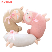 Lovcha sheep pillow Soft cushion at home decorate baby birthday gift Alpaca Plush Doll sheep plush toys