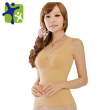 Women slimming vest, make sexy body vest,more and more young, slimming body wide strap vest NY001(China)