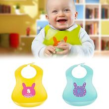 Baby Silicone Bib Stereo Disposable Bib Kids Bibs Children Pick Rice Pocket Cute Boy And Girls Bibs 6 Color W3