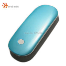 Blue Color High Quality Power Bank Electronics Hand Warmer Pocket Hand Warmer with Over Heat Protection Control(China)